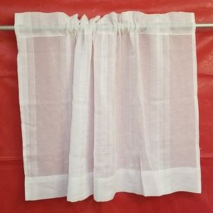 4 sheer valances